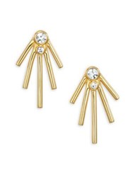 Jules Smith Designs Jagger Jewel Stud Earrings Gold