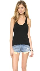 Daftbird Loose Racer Back Tank Black