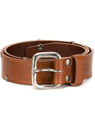 Maison Martin Margiela Maison Margiela Buckle Belt Brown