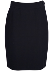 Moschino Vintage Pencil Skirt Black