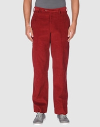 Pull Pal Zileri Casual Pants Brick Red
