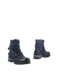 Thompson Ankle Boots Dark Blue