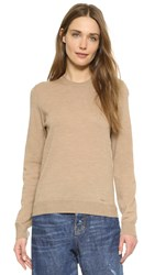 Dsquared Knit Sweater Camel