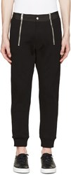 Diesel Black Smoky Lounge Pants