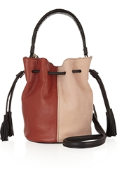 Newbark Gaia Leather And Suede Bucket Bag