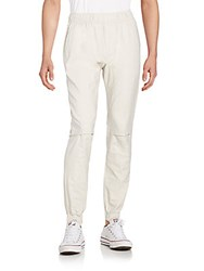 Saks Fifth Avenue Linen And Cotton Jogger Pants Natural