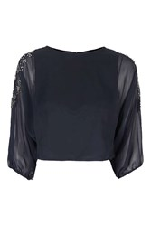 Tfnc Denise Top By Navy Blue