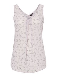 Therapy Cherry Blossom Vest Lilac