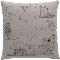 K Studio Texas Pillow