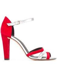Jean Michel Cazabat 'Ottanta' Sandals Red