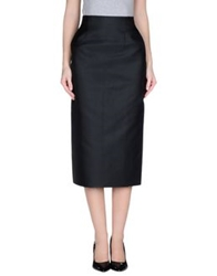 Barbara Casasola 3 4 Length Skirts Black