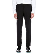 Tiger Of Sweden Herris Wool Blend Trousers Navy
