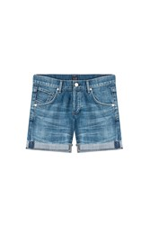 Citizens Of Humanity Skyler Low Rise Loose Short Blue