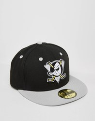New Era 59 Fifty Cap Fitted Anaheim Ducks Black