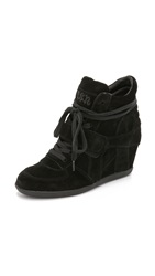Ash Bowie Wedge Sneakers Black