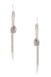 Amrita Singh Aztec Knot Earrings Metallic