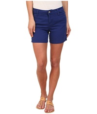 Calvin Klein Jeans Five Pocket Colour Short Deep Cobalt Women's Shorts Blue