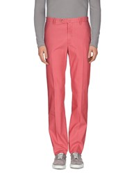 Incotex Trousers Casual Trousers Men Coral