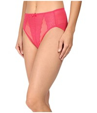 Wacoal Retro Chic Hi Cut Brief Raspberry Women's Underwear Pink