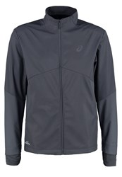 Asics Windstopper Hardshell Jacket Dark Grey