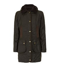 Barbour Bower Waxed Coat Female
