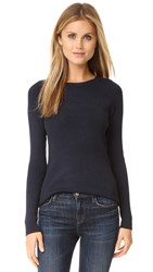 525 America Rib Crew Neck Sweater Classic Navy