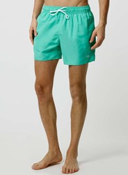 Topman Mint Green Swim Shorts Blue