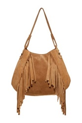 Jj Winters Paige Leather Tote Brown