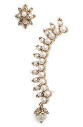 Marchesa Women's Ear Crawler And Stud
