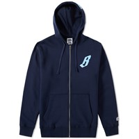 Billionaire Boys Club Billionaire Zip Hoody Blue