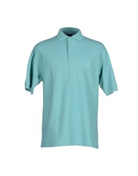 Faconnable Topwear Polo Shirts Men Turquoise