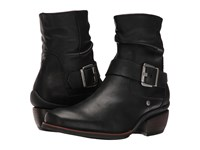 Wolky Koppen Black Mighty Greased Women's Pull On Boots