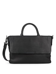 Marc By Marc Jacobs Robbie G Leather Messenger Bag Black