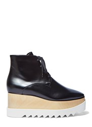 Stella Mccartney Elyse Platform Ankle Boots Black