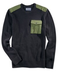 American Rag Men's Uniformity Sweater Only At Macy's Black Sea