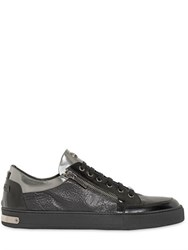 Botticelli Sport Limited Metallic And Embossed Leather Sneakers