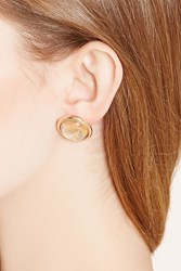 Forever 21 Iridescent Faux Stone Studs