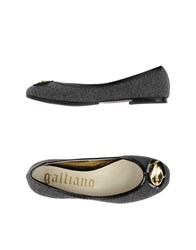 Galliano Footwear Ballet Flats Women Lead