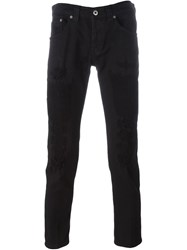 Dondup Distressed Jeans Black
