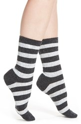 Ralph Lauren Women's Rugby Stripe Boot Socks