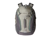 The North Face Big Shot Moon Mist Grey Duck Green Backpack Bags Gray