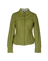 313 Tre Uno Tre Coats And Jackets Jackets Women Light Green