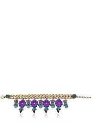 Tommaso Lonardo Hands And Flowers Chain Bracelet