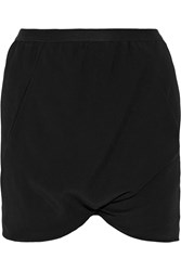 Rick Owens Stretch Jersey Shorts Black