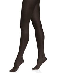 Calvin Klein Seamless Sheer Tights Black