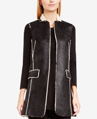 Vince Camuto Faux Shearling Jacket Rich Black