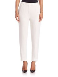 Escada Talarant Cropped Ankle Pants Natural