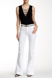 7 For All Mankind Slim Trouser Jean White