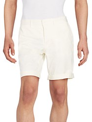 J. Lindeberg Stretch Cotton Shorts White