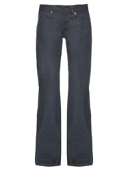 Maison Martin Margiela Low Rise Wide Leg Jeans Denim